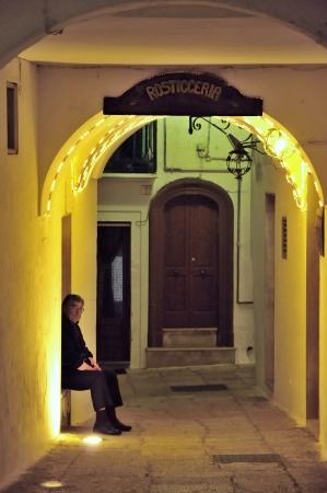Cisternino BR - glimpse of the old town Archivio Fotografico