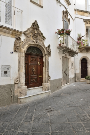 friezes: Martina Franca TA - a glimpse of the old town