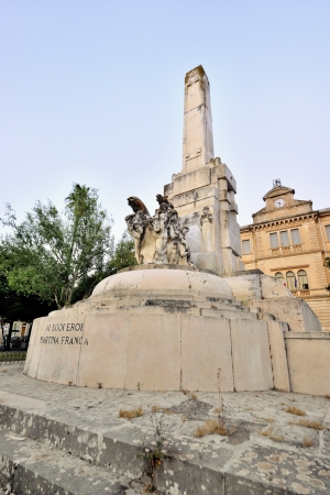 friezes: Martina Franca TA - the war memorial