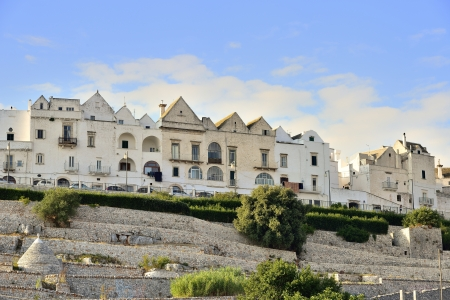 festival scales: Locorotondo BA - panoramic view of the village