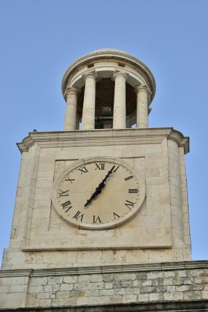 Locorotondo BA - the bell tower of the Basilica photo