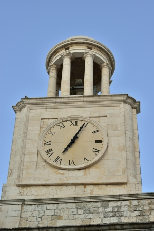 friezes: Locorotondo BA - the bell tower of the Basilica
