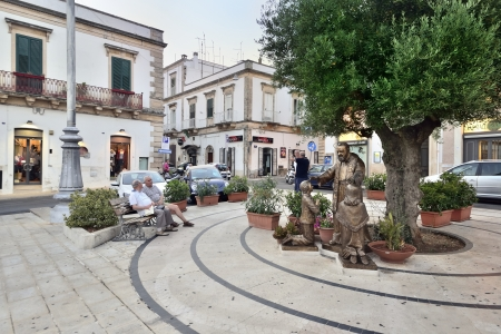 rurale: Martina Franca TA - a glimpse of the old town