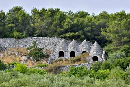 Martina Franca TA - trulli in the countryside photo