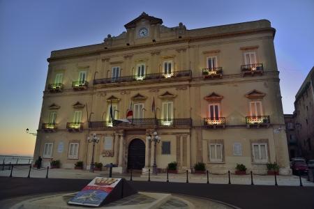 administrative buildings: Taranto - city palace