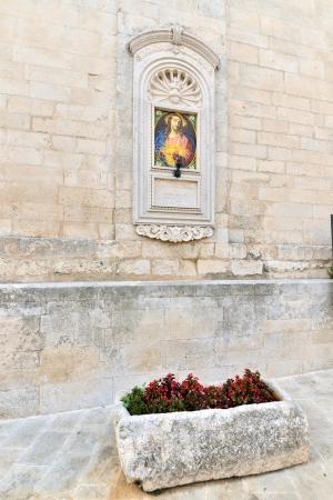 messa: Martina Franca TA - especially outside of the Basilica di San Martino