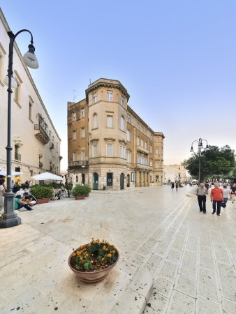 Martina Franca TA - the central square
