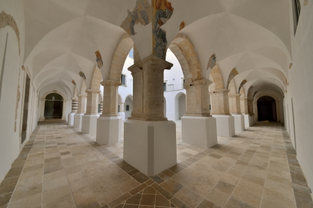Martina Franca TA - interior of a historic building Stock Photo - 15311396