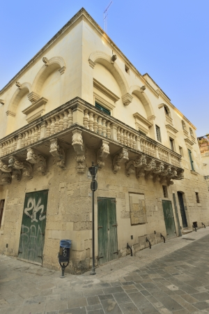 friezes: Lecce - a glimpse of the old town