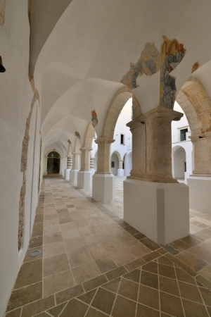 verandas: Martina Franca TA - interior of a historic building