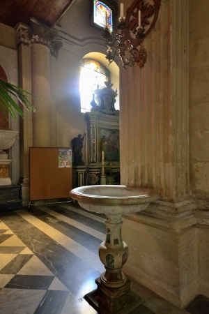 sacraments: Lecce - interior of the Cathedral of St  Oronzo