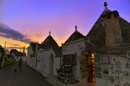 Walking between the Trulli - Alberobello BA