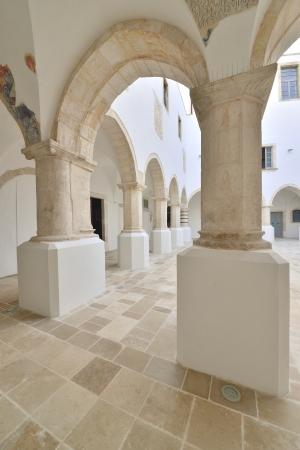 Martina Franca TA - interior of a historic building