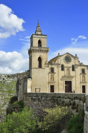 Matera - Church of San Pietro Caveoso Imagens