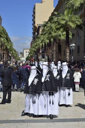 Taranto - Holy Week Rites - Procession of Our Lady of Sorrows