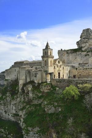 Matera - the Church of San Pietro Caveoso