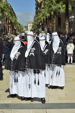 cappuccio: Taranto - Holy Week Rites - Procession of Our Lady of Sorrows