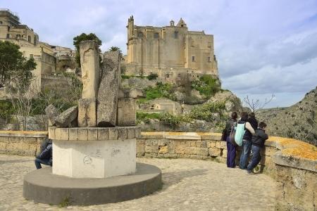 croci: Matera - Sassi between Tourists