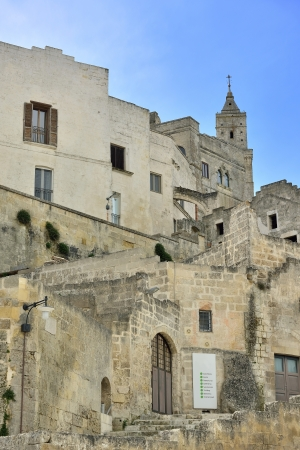 croci: Matera - The Old Town Stock Photo