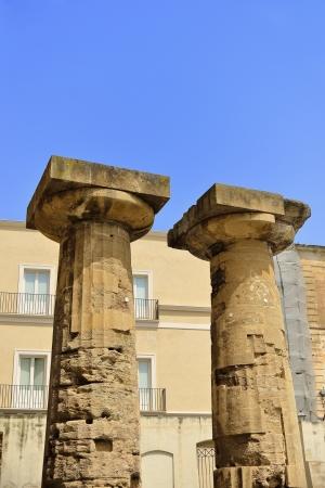 doric: Taranto - columnas d?ricas