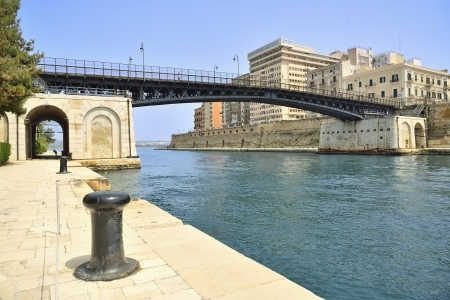 Taranto - Swing bridge and waterway
