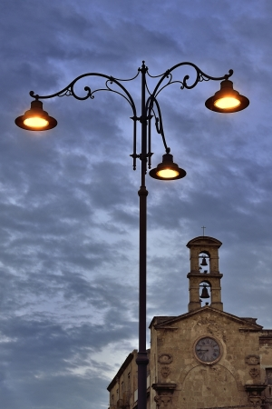 Taranto - The blue hour in the ancient village
