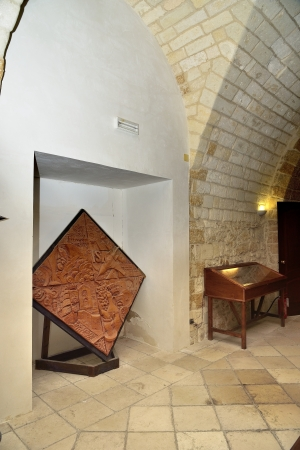 Taranto - Inside the Castello Aragonese