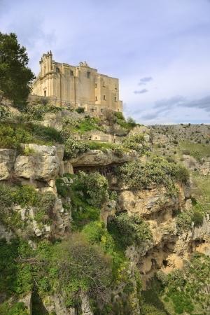 Matera - panorama rock