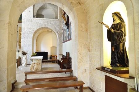 rurale: Church of Sant Antonio - Alberobello BA Stock Photo