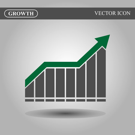 growth: Growth vector icon concept