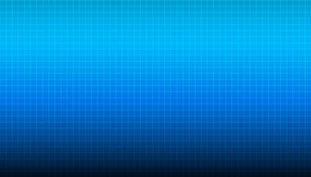 Blue wide background with linear blurred gradient coming from the top of the composition and light blue checkered texture. Abstract illustration for wallpaper, slide backdrops and web sites