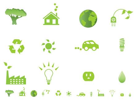outlets: Environmental ecology symbols