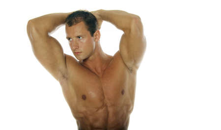 Attractive athletic man Stock Photo - 697181