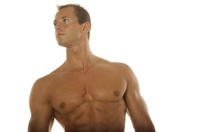 Athletic sexy man Stock Photo - 697183