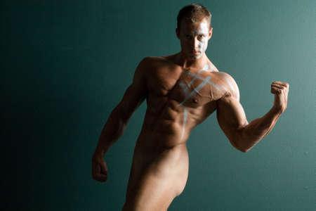 Sexy body builder Stock Photo - 697168