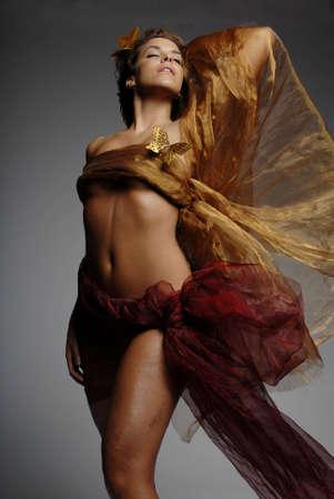 Glamorous sexy woman