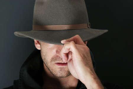 Mystery man Stock Photo - 716567