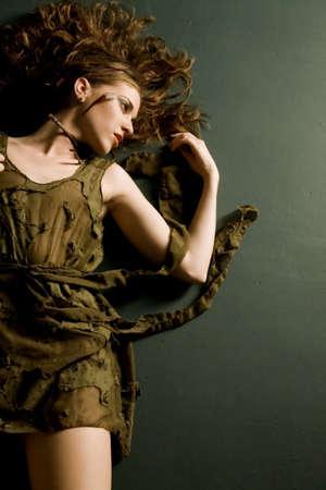 Beautiful glamorous woman Stockfoto