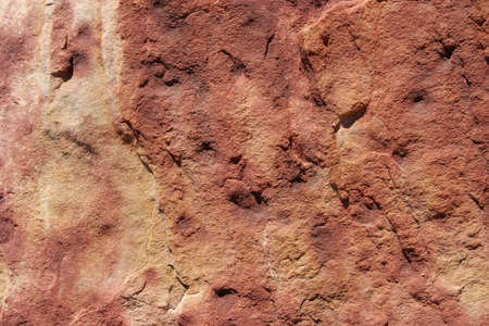 Red sandstone texture or background