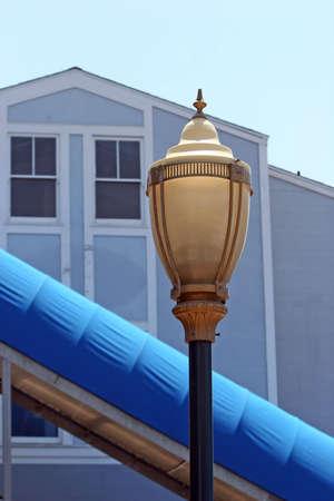 street lamp: Traditional street lamp