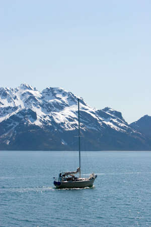 Boat at the Resurrection Bay photo