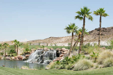 mountain oasis: Upscale golf course