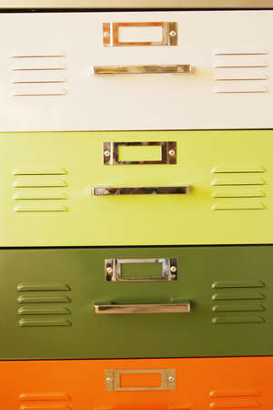 drawers: Modern colorful bedroom dresser drawers