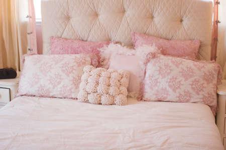 Modern tastefully decorated master bedroom Stock Photo - 1674586