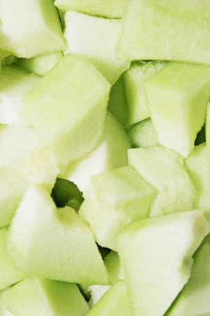 Cut honeydew melon Stock fotó