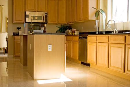 Modern kitchen with granite countertops Stock Photo - 1694561