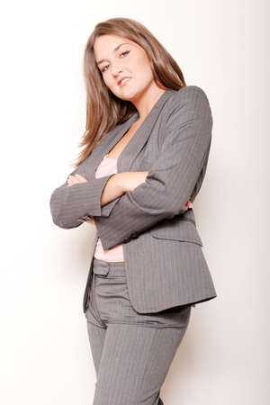 pantsuit: Pretty businesswoman at work