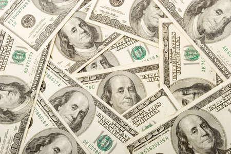 Bunch of hundred dollar bills