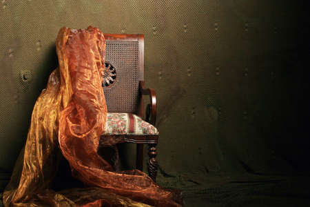 antique: Old antique chair