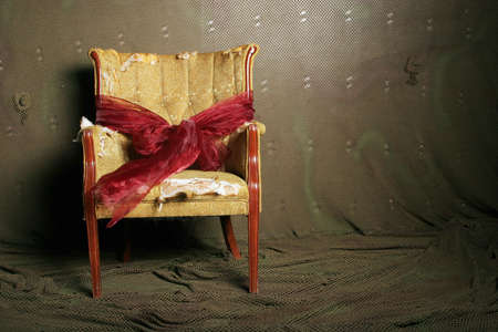 antique chair: Old antique chair